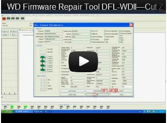DFL-WDII، وأفضل WD HDD إصلاح أداة قص المناطق