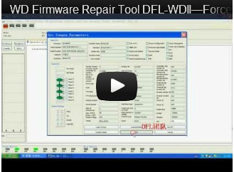 DFL-WDII, The Best WD HDD Repair Tool-Force Loading