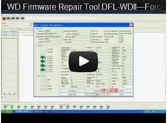 DFL-WDII، وأفضل WD اصلاح HDD أداة فورس تحميل