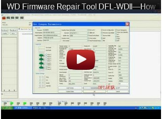 DFL-WDII, The Best WD HDD Repair Tool-How To Run ARCO
