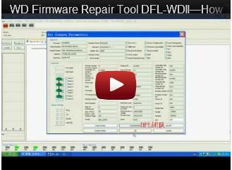 DFL-WDII، وأفضل WD اصلاح HDD أداة-كيفية تشغيل ARCO