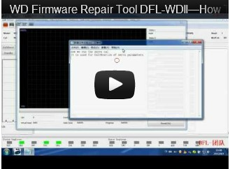 DFL-WDII, The Best WD HDD Repair Tool-How To Servo Kalibrierungslauf