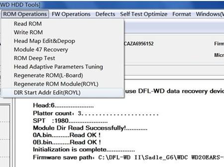 Dfl wdii hdd firmware repair tool windows 10
