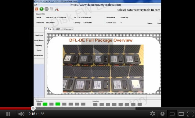 DFL-DE:Fixing/Recovering Seagate 7200.12 HDD
