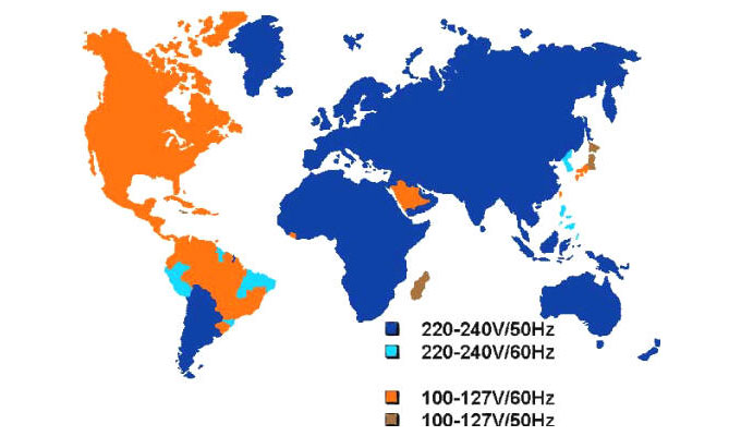 Voltage Around the World