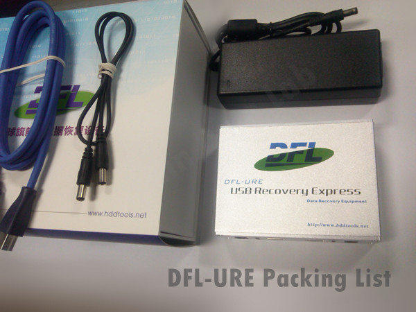 DFL-URE-Packing-Liste