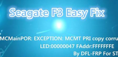 how to fix error drive on seagate hard drive