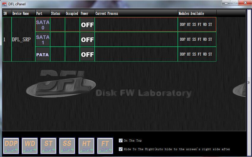 DFL-control-panel