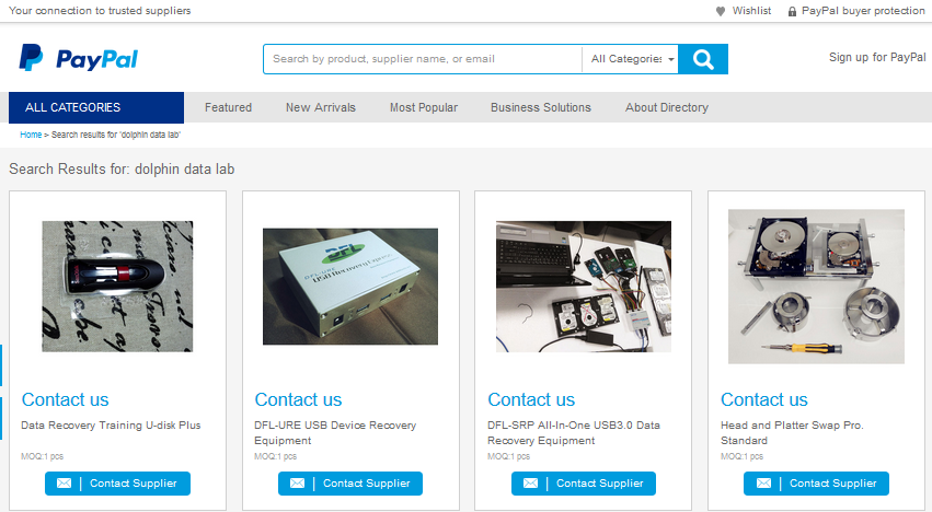 paypal-trusted-supplier-dolphin-data-lab