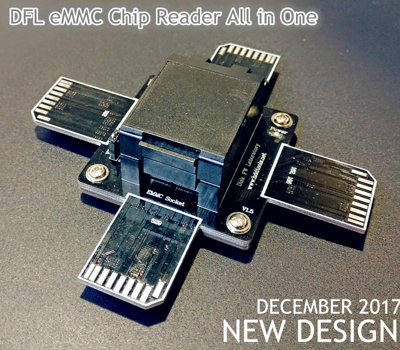DFL eMMC Chip Reader All in One